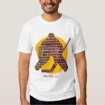 Brick Wall Hockey Goalie T Shirt