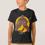 Brick Wall Hockey Goalie Tshirt