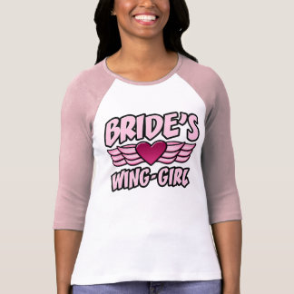 Bride's Wing-Girl Bachelorette Party Tees