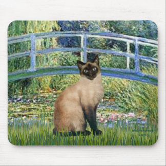 Bridge - Seal Point Siamese cat Mouse Pad