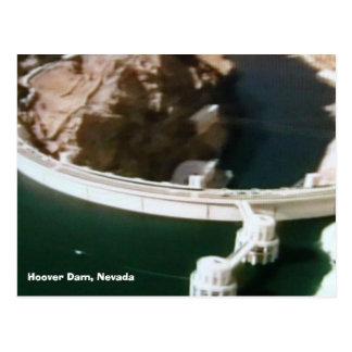bridges-of-the-world 016, Hoover Dam, Nevada Postcard