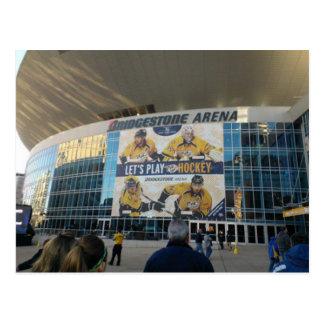 Bridgestone Arena Nashville Tennessee Postcard