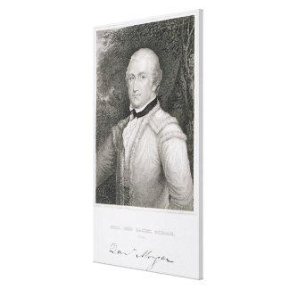 Brigadier General Daniel Morgan (1736-1802) engrav Canvas Print