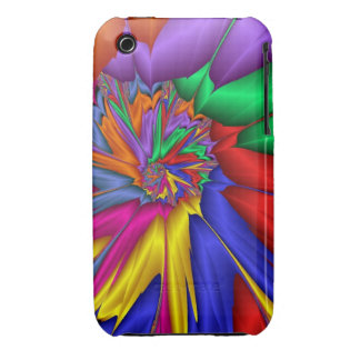 Bright abstract iPhone 3 covers
