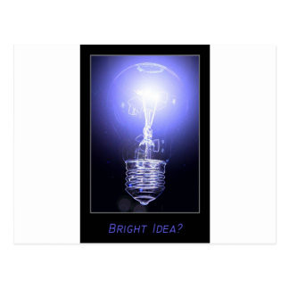 Bright Idea? Postcard