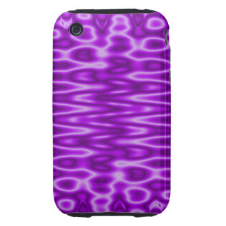 bright purple pattern tough iPhone 3 cases
