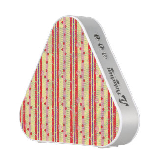 Bright Strawberry Swirl Stripes Pattern