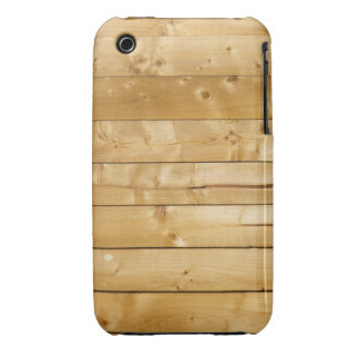 Bright Wood Background iPhone 3 Covers