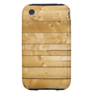 Bright Wood Background Tough iPhone 3 Covers