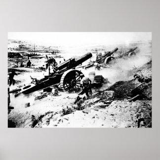 British Artillery Poster