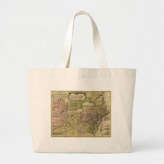 British Colonies in America Map (1765) Jumbo Tote Bag