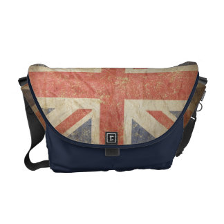 British Flag Distressed Commuter Bags