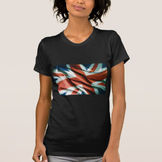 British Flag Pop Art Tee Shirts