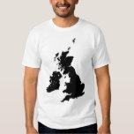 British Isles in Black Tshirt