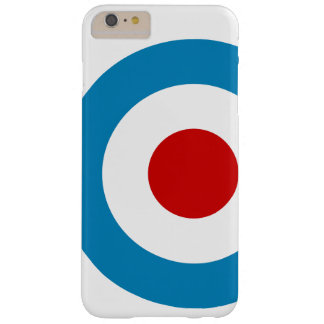 British Mod Target Design Barely There iPhone 6 Plus Case