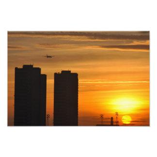 BRITISH SUNSET PHOTOGRAPH
