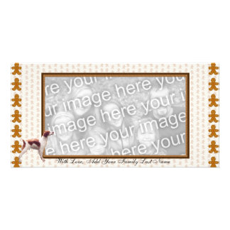 Brittany ~ I'd Rather Be Hunting Photo Card Template