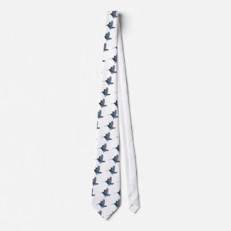 Broad Billed Hummingbird Tie