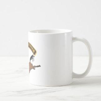 Bronco Buster with Text Basic White Mug