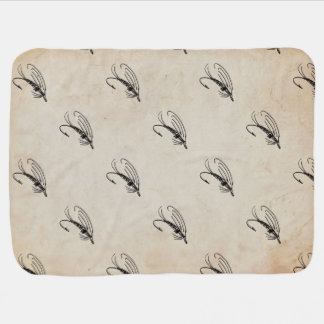 Brook Trout Scales Photography Receiving Blankets