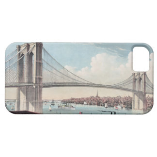 Brooklyn Bridge Painting Case For The iPhone 5