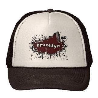 Brooklyn-Grunge Trucker Hat