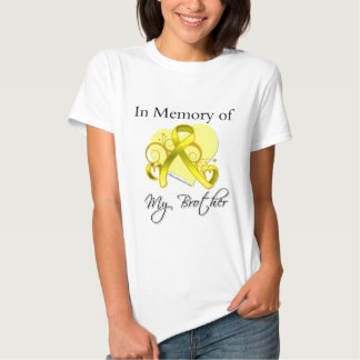 Brother - In Memory of Military Tribute Tee Shirts