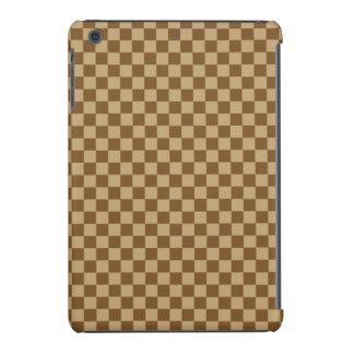 Brown Combination Classic Checkerboard iPad Mini Retina Case