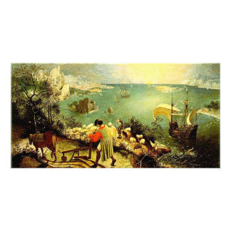 Bruegel's Landscape with the Fall of Icarus - 1558 Photo Greeting Card