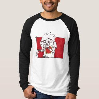 "Brutal Muse ""Brutal Bud 3"" Raglan Long-Sleeve Tshirts"