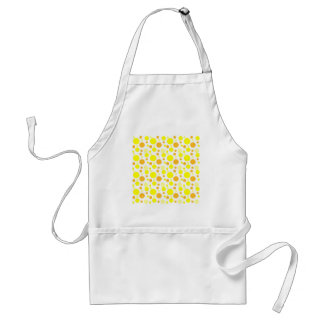 Bubbles in Yellow Standard Apron