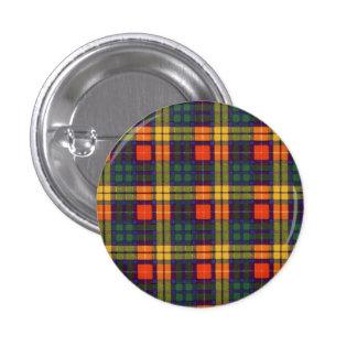 Buchanan Family clan Plaid Scottish kilt tartan 3 Cm Round Badge