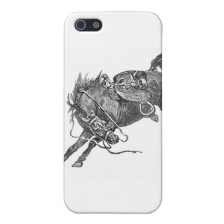 Bucking Horse Case For The iPhone 5