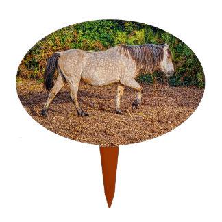 Buckskin New Forest Pony Wildlife Cake Topper