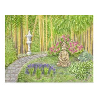 Buddha Garden postcard