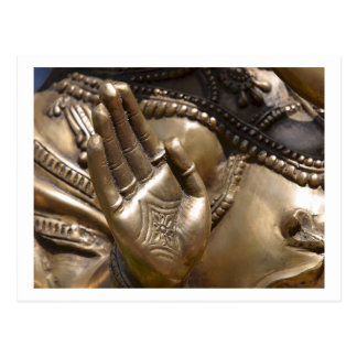Buddha Hand ~ Thai Temple Photograph Postcard