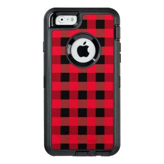 Buffalo plaid OtterBox iPhone 6/6s case