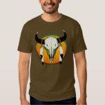 buffalo skull tshirt