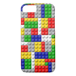 Building Blocks Primary Color Boy's Birthday/Party iPhone 7 Case