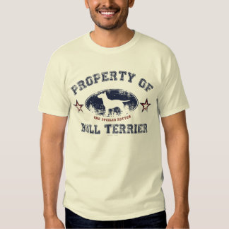 Bull Terrier Tshirts