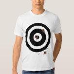 Bullseye Bullet Wounds (Dark Skin) T Shirts