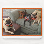 Bumblesnot Mousepad: The Bacon Bunch Mouse Pad