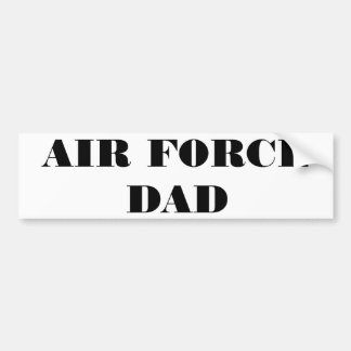 Bumper Sticker Air Force Dad