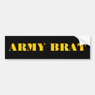 Bumper Sticker Army Brat