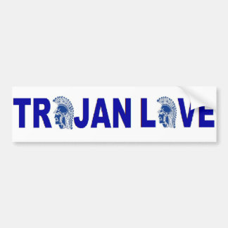 Bumper Sticker Trojan Love