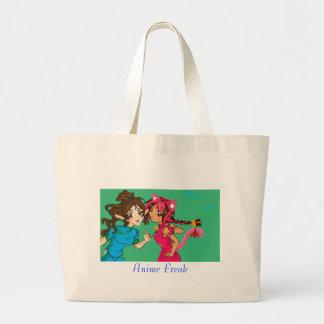 bumpersticker copy, Anime Freak Jumbo Tote Bag
