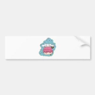 bunny desert bumper sticker