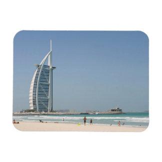 Burj Al Arab From Sunset Beach, Dubai Rectangular Photo Magnet