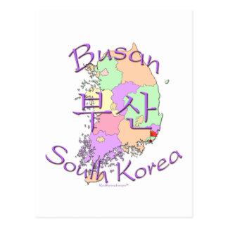 Busan South Korea Postcard