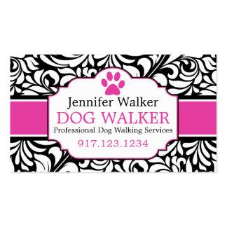 Business Cards For Dog Walkers | Dog Groomer
